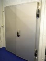 Морозильные двери ''Стандарт'' 120мм 3000x1900h Распашные двухстворчастые. Без доставки. Без монтажа. При заказе (3и больше шт).