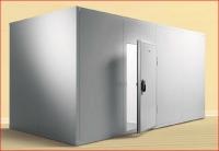 Собраная из панелей ППС 100  холодильная камера 1,2х1,2х2,2h обьом 3,2м3. +Доставка. С НДС.