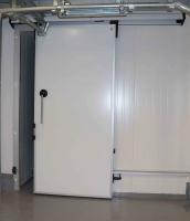 Морозильные двери ''Люкс'' 120мм 4000x4000h Откатные. Доставка -Льв.,Тер.,Вол.,Ров.обл. Монтаж.