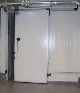 Холодильные двери ''Люкс'' 100мм 1400x4000h Откатные. Без доставки. Без монтажа. При заказе (3и больше шт).